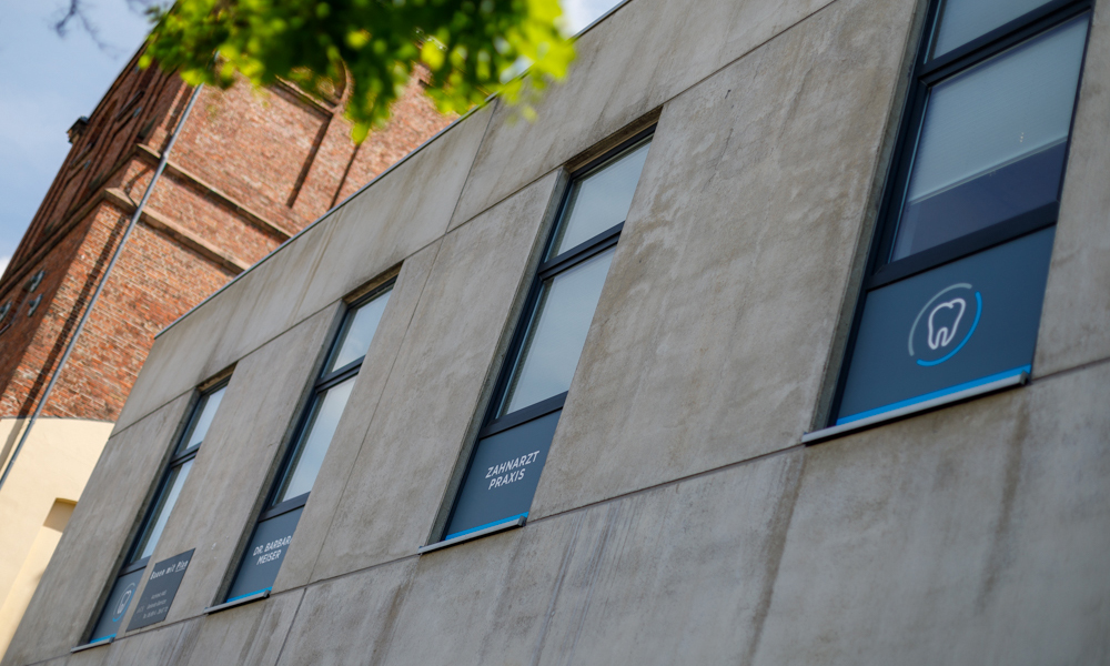 Gebäude 1. Etage - Zahnarztpraxis Dr. Barbara Meiser Saarbrücken