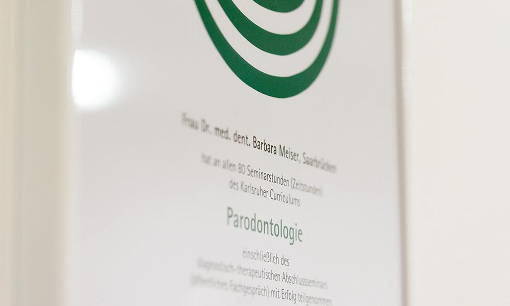 Fortbildung Parodontologie